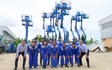 タイで安心してご使用頂ける建設機械・器具のレンタル会社を目指して。サイアムカナモトのメンテナンス体制とは?