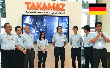 CNC精密旋盤 プライベートショー&勉強会2021/タカマツマシナリー・ヨーロッパ事務所