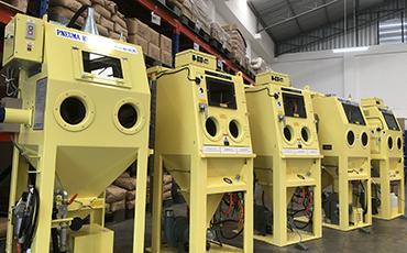 タイ初!ブラスト装置のレンタルサービスを開始。 自社でエアーブラスト加工の実機体験ができるチャンス