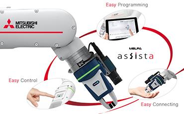 【タイ・協働ロボット】 三菱電機FAの新提案!生産現場で誰もが簡単に扱える協働ロボット「MELFA ASSISTA」