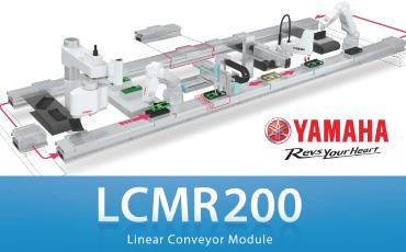 ベルト/ローラーコンベアに替わる最先端の搬送機器!YAMAHA製リニアロボットコンベア LCMR200