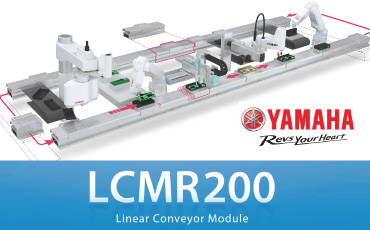 State-of-the-art transportation equipment that replaces belts/roller conveyors! YAMAHA's Linear Robot Conveyor LCMR200