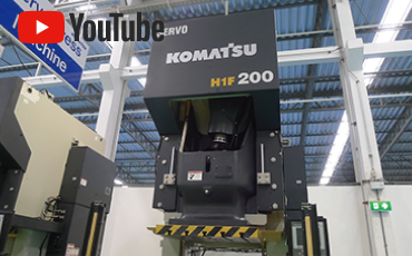 KOMATSU INDUSTRIES' new AC servo press machine is now on sale in Thailand. Introducing the strengths of new products through an interview between the manufacturer and the distributing agent