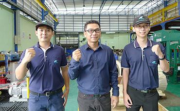 タイにおける、電気モーター・工業用ポンプ・ギア等の保全サービス(オーバーホール等)でPEAKと提携!