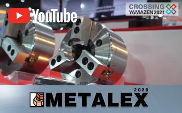 KITAGAWA x YAMAZEN/METALEX 2020<br>パワーチャック「BRシリーズ」を、山善ブース出展各社の加工機に搭載!