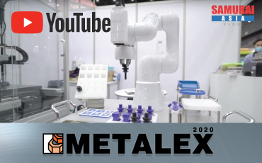 "Introducing ""automation / labor saving"" solutions that you can see, touch, and experience [Thailand METALEX 2020 Report]"