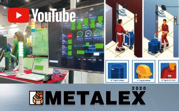 ไฮไลท์จากบริษัท Patlite (Thailand) Co.,Ltd.  ณ งาน METALEX2020