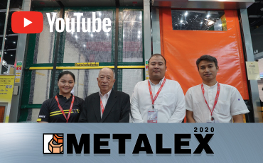 Come experience ROLLASKA / ROLLWAY (Hi-speed sheet shutter) exhibitions and outstanding innovations from World Kogyo at METALEX 2020!
