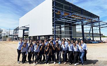 【建設機械・器具のレンタル・販売/タイ】サイアムカナモト・バンコク営業所、2021年3月オープンに向け、建設が進行中!