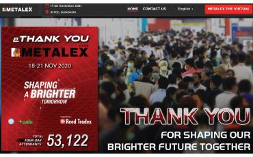 METALEX 2020 ปิดฉากลงอย่างงดงาม ด้วยสถิติผู้เข้าร่วมงานกว่า 53,122 คน ใน 4 วัน!