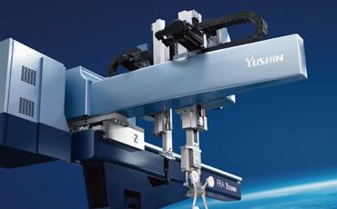 プラスチック射出成形機の取出ロボットと言えば「ユーシン精機」。アジア・アメリカ・ヨーロッパなど世界の各地に版図を拡大中