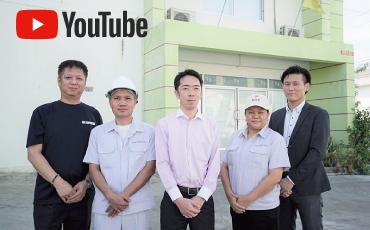 藤田技研タイの高精度治具を搭載したタイエミックの振動試験装置