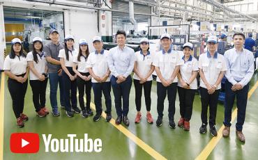 【กรณีศึกษา : บริษัท TOHO INDUSTRY (THAILAND) 】   บทความที่ ①   เครื่อง Auto Lathe   / รวมการการทำงานของเครื่องจักรทั้งหมดในโรงงานด้วยระบบ Turnkey System