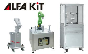 産業用ロボット架台「アルファ・キット」のラインアップ拡充!各社ロボットにフィットする専用アルミフレーム架台/NIC・タイ