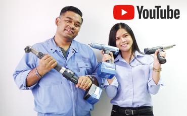 自動車組立ラインなど、重要なねじ締め工程の必需品、エスティック製「ナットランナ Handy 2000シリーズ」をタイで販売