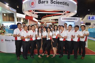 島津製作所の分析・計測機器の販売で30年の歴史「BARA SCIENTIFIC」