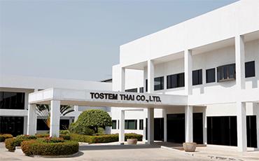 アルミ製品の製造における、タイ優良企業3社とトステムタイ、信頼の協業関係