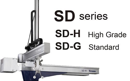 プラスチック射出成形機の取出ロボット新製品<br>『SDシリーズ』をタイで販売開始!