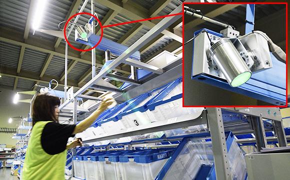 LEDライトで、安価・正確・スピーディーなアソートを実現!「PTIシステム」とは?/オークラ輸送機・タイ