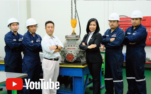 タイでの冷凍設備のメンテナンス|マエカワコンプレッサーのオーバーホールを行なうサービス部門の技術力を紹介