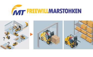 タイ工場・工程内の自動化+IoT化を促進するUHF帯RFIDソリューション『工程間搬送自動制御システム』