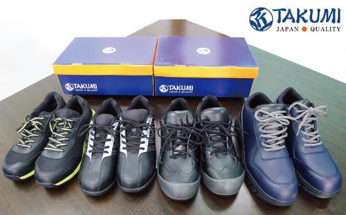 PPE(個人防護具)のTAKUMI(匠)安全靴<br>機能・デザイン一新の4モデルをタイで販売開始!