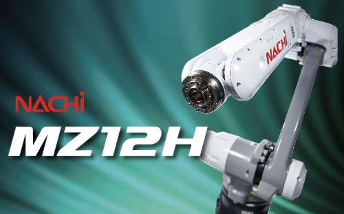 Hollow wrist specification and a payload over 12kg The fully-covered hollow compact robot 'MZ12H' is now available!