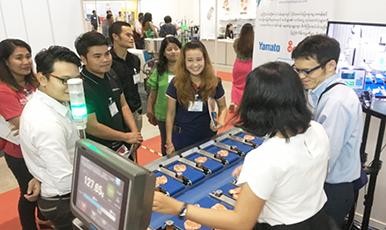 タイ以外でも拡大するASEANの自動計量機への需要! ヤマトスケール展示会出展レポート ミャンマー編