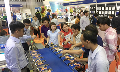Expanding demand of ASEAN Automatic Weighing Machines even outside Thailand!  Yamato Scale Exhibition Report - Vietnamese Edition