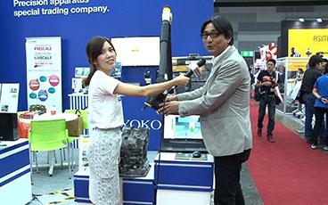 METALEX2017 サムライインタビュー:RYOKOSHA (THAILAND)CO.,LTD. 坂内様