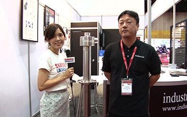 METALEX2017 サムライインタビュー:INDUSTRIA(THAILAND)CO.,LTD. 後藤様