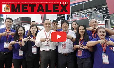 METALEX2018 サムライ動画リポート!山田マシンツール(タイランド)【刻印機】