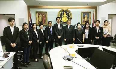 (กิจกรรมเพื่อสังคม) ความร่วมมือกับกระทรวงต่างๆ และบริษัทยักษ์ใหญ่ในประเทศไทย ! การใช้ประโยชน์จากผลิตภัณฑ์ของบริษัท THAI YAZAKI NETWORK SERVICE กับกิจกรรมเพื่อสังคม