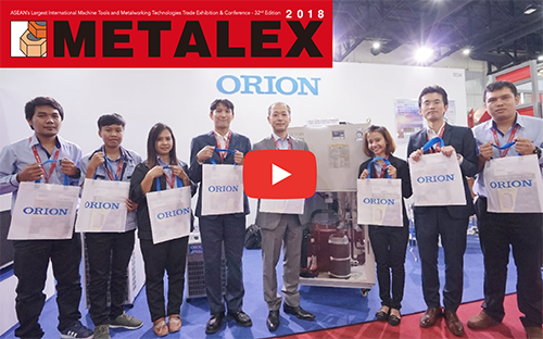 METALEX2018 Samurai Video Report! ORION MACHINERY ASIA 【Thai Air Dryers & Chillers】