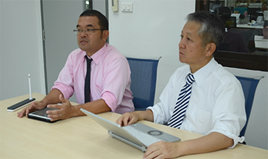 Interview with the president of Ueno (Thailand, Mr. Matsumoto (First half) For over 20 years in Thailand, Ueno has earnestly worked by according to their motto, feeling that