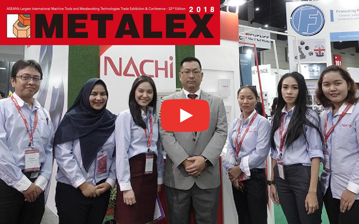 METALEX2018 サムライ動画リポート!ナチテクノロジータイランド 【切削工具】