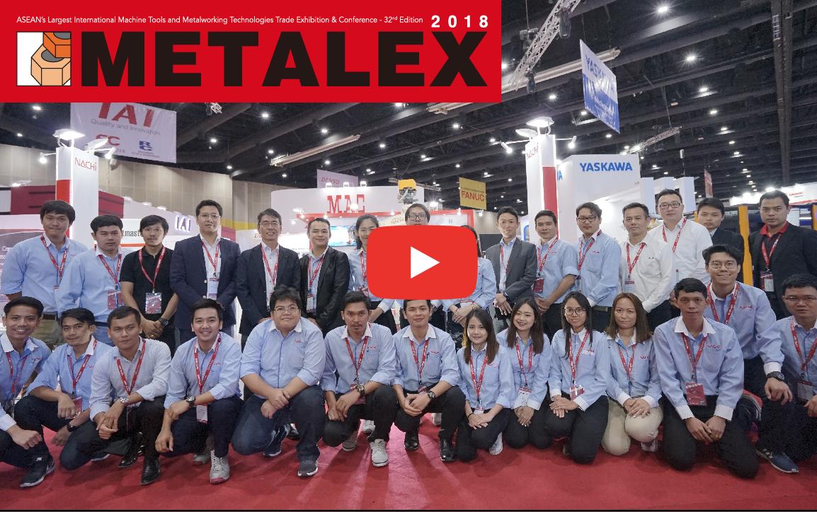 METALEX2018 サムライ動画リポート!ナチテクノロジータイランド【産業用ロボット】