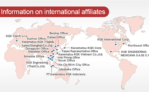 グローバルに連携!トータルソリューション提案のKGKエンジニアリング(タイ)【工作機械商社】