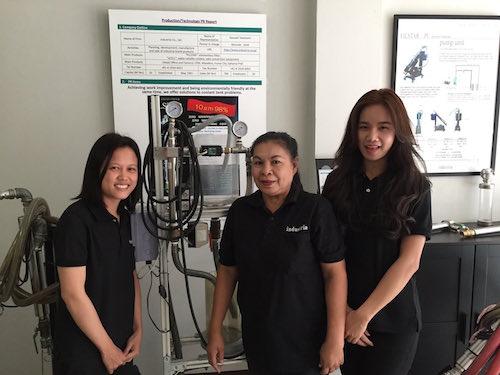 高性能濾過装置であるエレメントレス・フィルターをタイで事業開始。