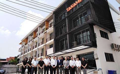 イースタンシーボード支店オープニングセレモニー 高松機械工業(タイランド)