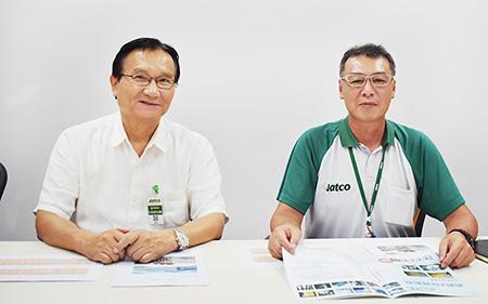 ARIORES ช่วยลดอัตรางานเสียได้ถึง 1/10 นอกจากนี้สามารถลดระยะเวลาและต้นทุนที่ใช้ในการกำจัดสนิมได้ - บทสัมภาษณ์ระหว่างบริษัท JATCO (Thailand) และบริษัท ANES (THAILAND)