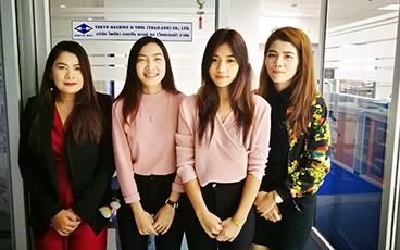 「切削工具なら私たちに!」タイの製造業で活躍する女性たち