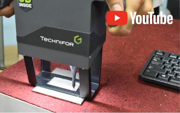 タイで消えないマーキングを安く実現!ドットピン式マーキング装置「TECHNIFOR」