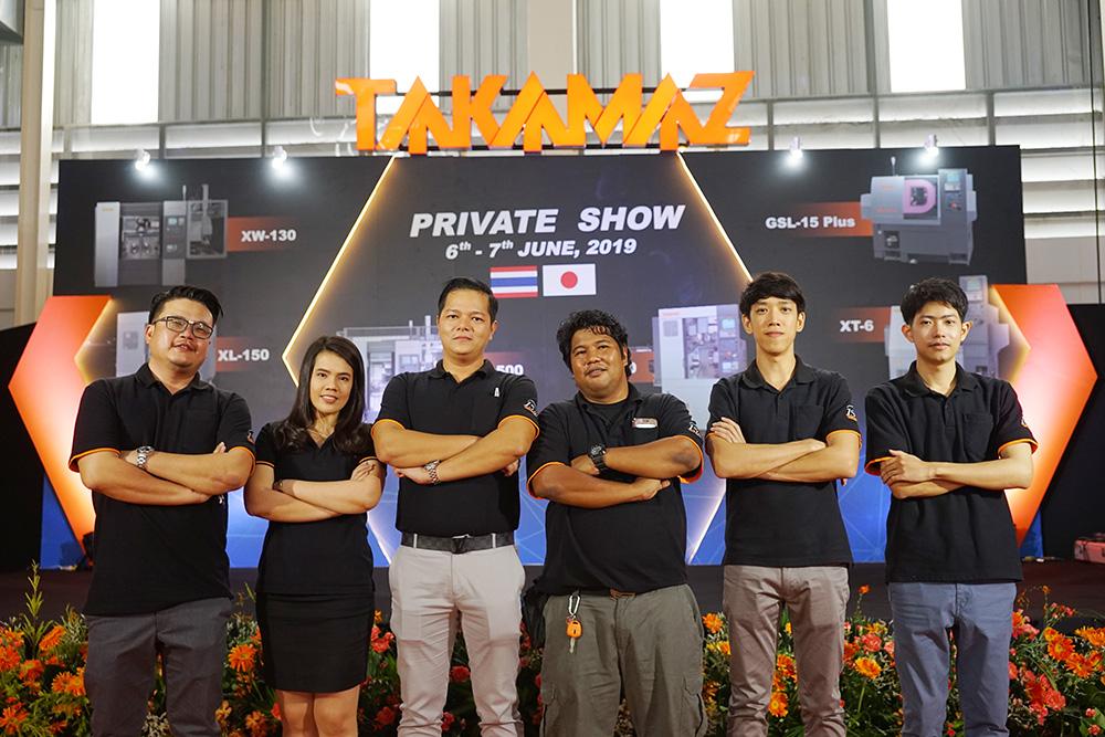 Report Of Private Show 2019 Takamatsu Machinery Thailand