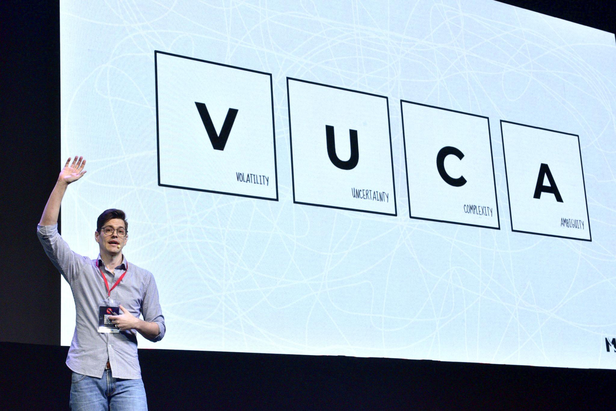 Today & the future of customer experience. VUCA.