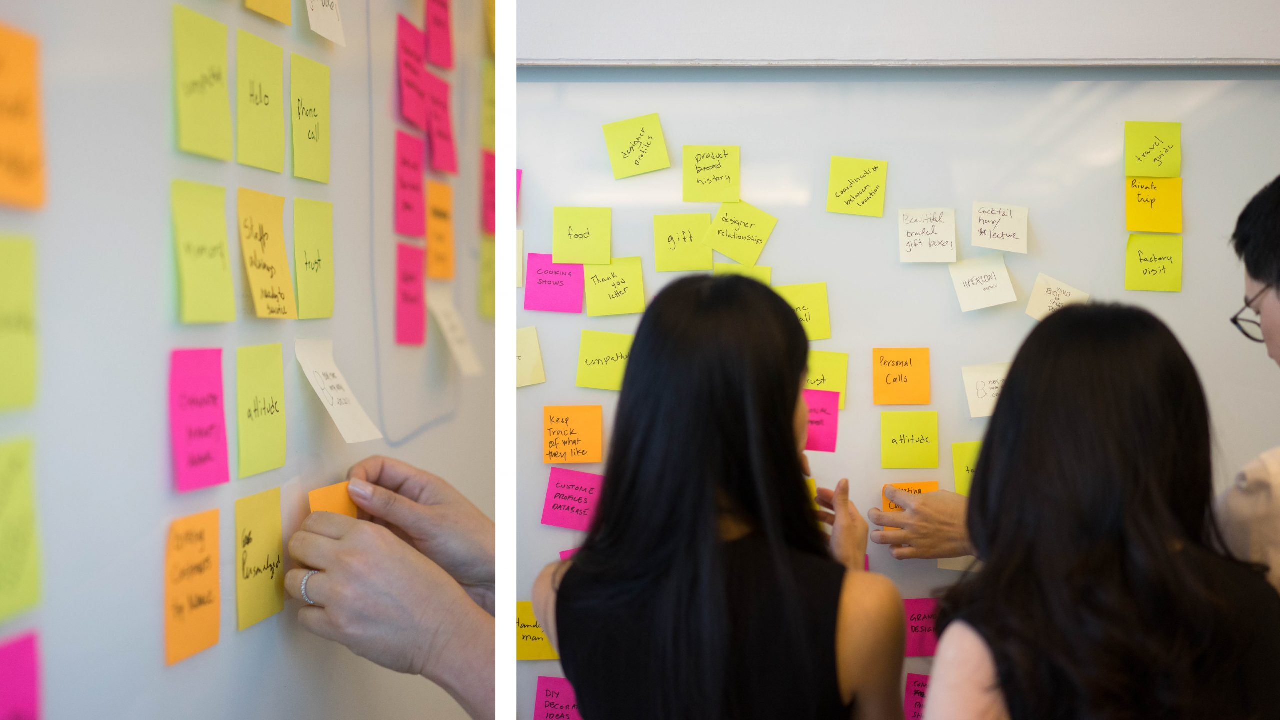 Customer journey research workshop - MAQE