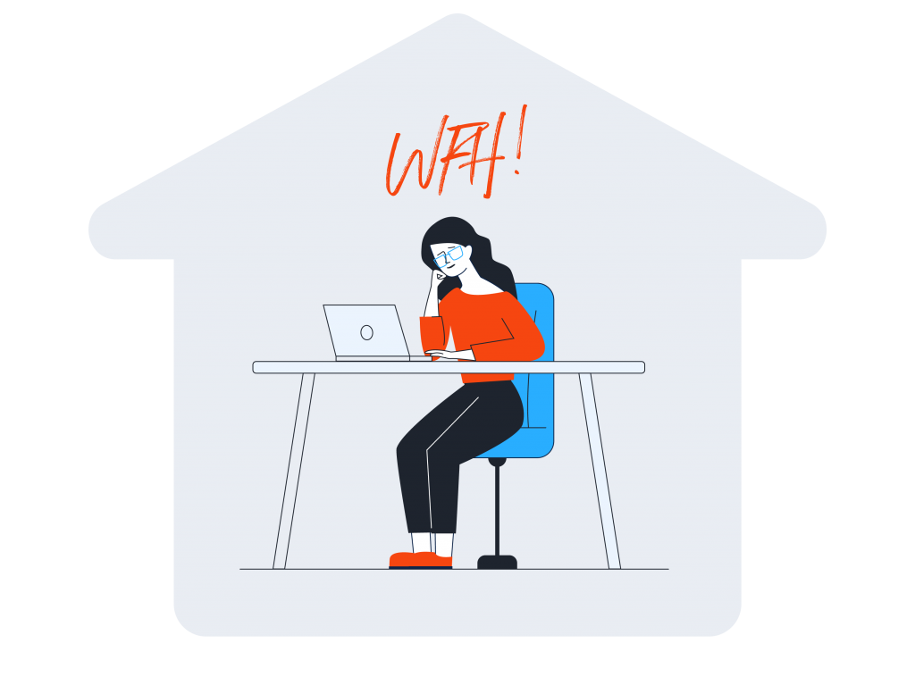 Working from home during COVID-19 - MAQE