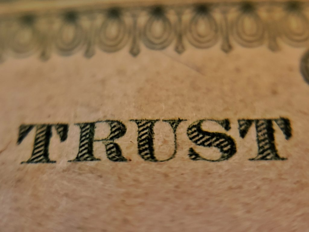 Building trust in property