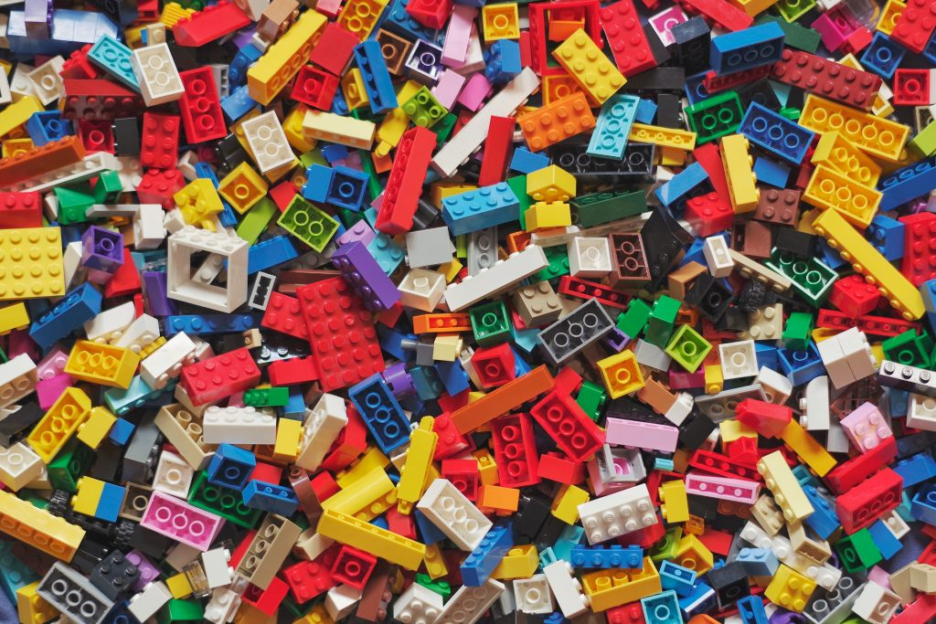 how to hack management - image showing lego blocks which illustrates the need for models.