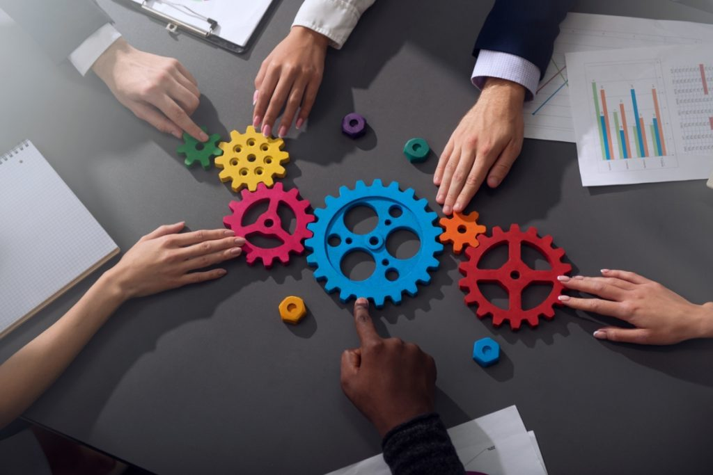 Teamwork and organization image - What is rendanheyi?